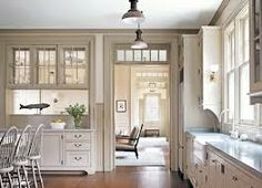 separate but still open- kitchen design