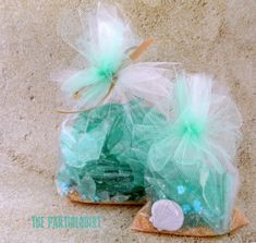 The Partiologist: Beach Week - Edible Sea Glass! for Mermaid, Under the Sea, Octonauts party Little Mermaid Birthday, Little Mermaid Parties, Octonauts Party, Ocean Party, Beach Party, Mermaid Baby Showers, Under The Sea Party, 1st Birthday Parties, Birthday Ideas