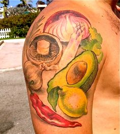 Culinary inspired tattoo. Artwork- Germany