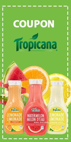 Rabais pour limonades Tropicana.  http://rienquedugratuit.ca/coupons/rabais-tropicana/