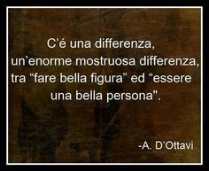 """There is a difference, a huge monstrous difference between 'looking good """"and"""" being a good person """""""
