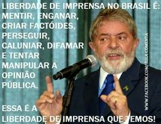 Liberdade de imprensa no Brasil hoje (agosto de 2014).