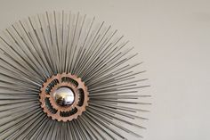 27in Industrial Steampunk Starburst / Sunburst by SamjenArts, $120.00