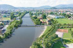 Visualisierung Murkraftwerk Graz - Bereich Grünanger Seifenfabrik