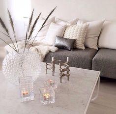 Love the silver & white