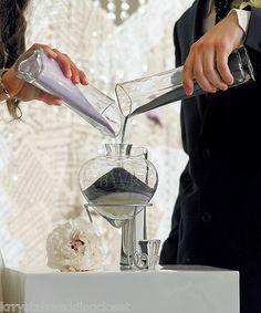 Heart Shaped Unity Sand Wedding Ceremony Vases 6 PC Set | eBay