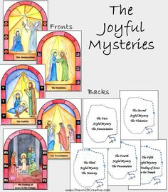 I have finally, no I mean FINALLY, finished these Printable Watercolor Mysteries of the Rosary Cards, and I'm soooo excited to be posting them in time for October, the month of the Holy Rosary. Each mystery of the Rosary has...Read more