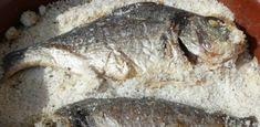 Recetas Caseras Fáciles MG: Doradas a la sal Fish, Blog, Baked Fish, Homemade Recipe, Cooking, Easy Recipes, El Dorado, Pisces, Blogging