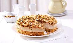 Eiskaffee-Torte                              -                                  Eine sahnige Torte mit Eiskaffee für den Sommer