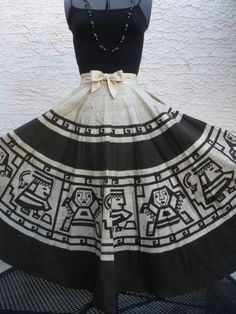 Mexican Circle Skirt 50's