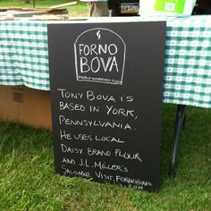 Forno Bova uses our Daisy Organic Flour when making his wood-fired pizza.
