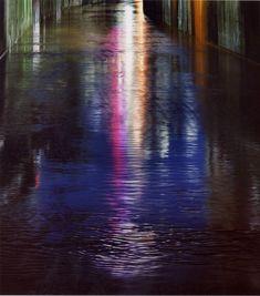 Naoya Hatakeyama's beautiful photography of Tokyo light reflections at night - really long exposure!