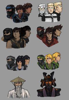 An Art Blog — those ninja sure like going