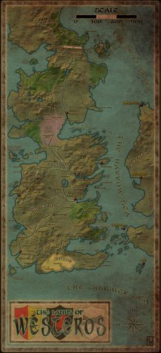 Westeros by ~Chanimur on deviantART