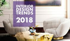 Interior design trends What's hot this season in interior design: Black finished, Wabi Sabe, Ultra Violet Color, Mixed Metallics, Textures and mores! 2018 Interior Design Trends, Interior Design Inspiration, Beautiful Color Combinations, Ultra Violet, Sweet Home, Living Room, Home Decor, Room Ideas, Interiors