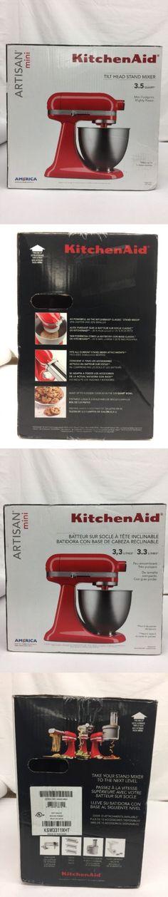 KitchenAid Stand Mixer KSM3311XBM Artisan Mini Series 3 5 Quart Matte Black NIB