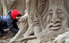Weston Sand Sculpture Festival 2013