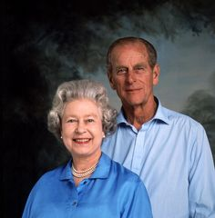 This casual portrait captures the Queen and the Duke of Edinburgh as they are often not se...