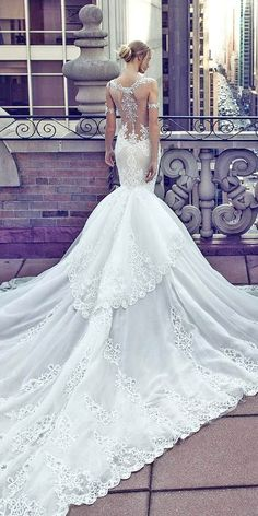 Unique And Hot Sexy Wedding Dresses ❤ See more: www.weddingforwar... #weddings