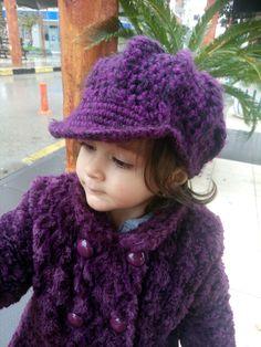 Kızıma meşur şapkamdan yaptım