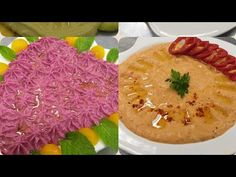 حمص بنكهات مختلفة /How to mack Houms with Defrant Flovers - YouTube Hummus, Dips, Ethnic Recipes, Youtube, Food, Sauces, Essen, Dip, Meals