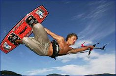Kite surfing is definitely the kind of thing where you might want to bring a pair of hides® along.