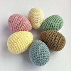 oeufs de Pâques tricotés