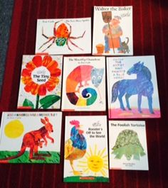 Check out these Eric Carle lesson plans, activities and photos of engaging anchor charts on my TPT store- Love and Kindergarten.