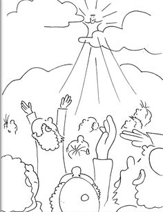 Jesus Coloring Pictures Children Bible Coloring Pages