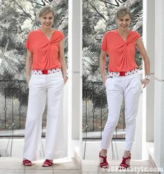 What looks better? Long pants or capris? (click through for more tips on how to wear capris)