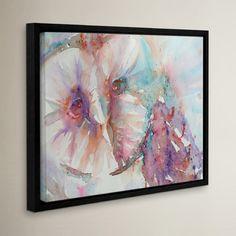 """Mercury Row Barn Owl 1 Framed Painting Print Size: 18"""" H x 24"""" W x 2"""" D"""