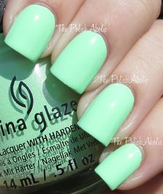 China Glaze Sunsational Collection- Highlight of My Summer