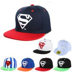 0412a107ee3f3 3-8 Years Cool Children Superman Hip Hop Cap   Price   12.99  amp