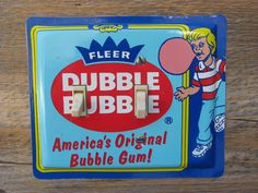 Dubble Bubble Bubblegum Gum Tin Switch Plate Made From Retro Old Tins SP-0267 #DubbleBubble