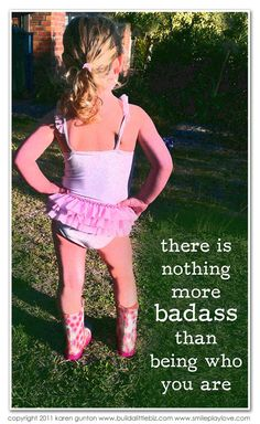 there is nothing more badass than being who you are #1in10pcos