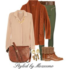 Winter Outfit, created by mozeemo on Polyvore