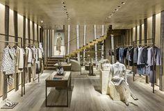 A nova loja da Armani em Saint Tropez (Foto: Divulgação)