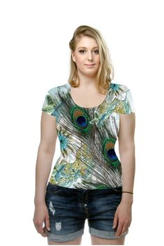 By Hilly Wakeford. All Over Printed Art Fashion T-Shirt by OArtTee