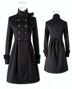 Double-breasted vintage coat