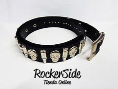 Correa de calaveras y balas. $13.000 Adquierela en www.rockerside.com Envíos a todo Colombia, aceptamos todos los medios de pago
