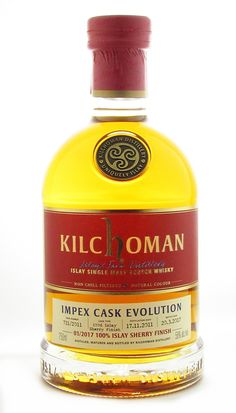 Kilchoman Impex Cask Evolution - The Whisky Shop Whisky Shop, Scotch Whisky, Distillery, Whiskey Bottle, Evolution, Alcohol, Food, Scotch Whiskey, Liquor