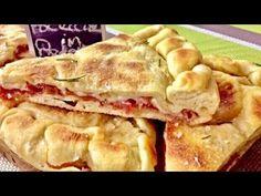"Focaccia ""Istantanea"" in padella velocissima - TUTTI A TAVOLA - YouTube Pitta, Empanadas, Egg Rolls, Antipasto, Finger Foods, Apple Pie, Flan, Beignets, Food And Drink"