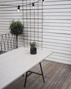 Why Teak Outdoor Garden Furniture? Ikea Outdoor Table, Ikea Table, Outdoor Decor, Garden Table, Patio Table, Diy Table, Balcony Garden, Ikea Garden Furniture, Diy Outdoor Furniture