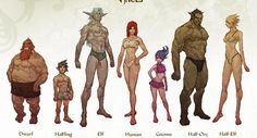 dungeons & dragons characters - Google Search