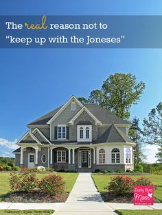 """The Real Reason You Shouldn't Try to """"Keep Up with the Joneses"""""""