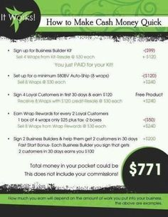 Join my team today!!https://loseincheswithjess.myitworks.com