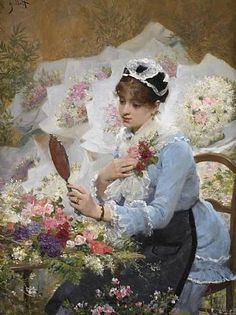 The Important Corsage ~ Victor Gabriel Gilbert