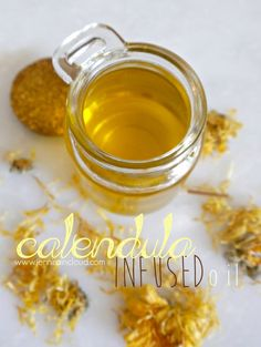 Calendula is the ultimate healing flower that is antimicrobial and anti fungal as well as a powerful anti inflammatory! It is the perfect oil to use in a healing balm or even in skin care! Anti Aging Cream, Anti Aging Skin Care, Natural Skin Care, Natural Beauty, Natural Glow, Natural Hair, Homemade Skin Care, Diy Skin Care, Skin Care Tips