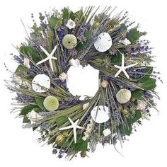 Preserved Ocean Garden Wreath