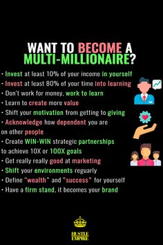 Successful Business Tips, Small Business Plan, Investing Money, Thats The Way, Financial Tips, Business Inspiration, Business Motivation, How To Get Money, Money Management